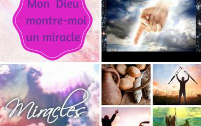 Prière pour activer les miracles au quotidien