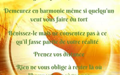 Demeurez en harmonie